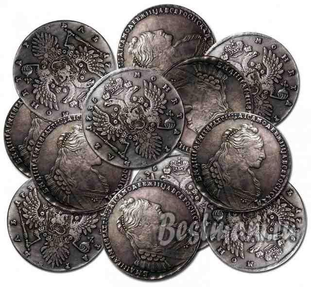 Купить недорого царские монеты купюра 5000 евро