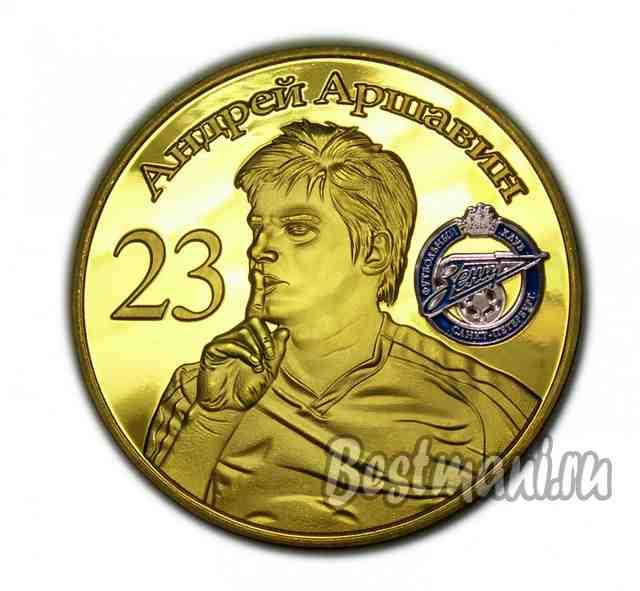 Купить бутафорские золотые монеты копейка 1700