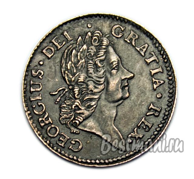 Продать монету 2 рубля 1722 года посередине огромным овалом