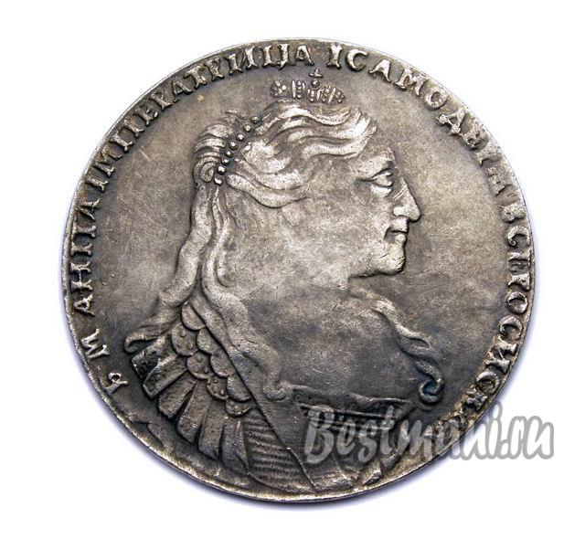 Монета 1733 серебро анна императрица памятные монеты фифа 2018