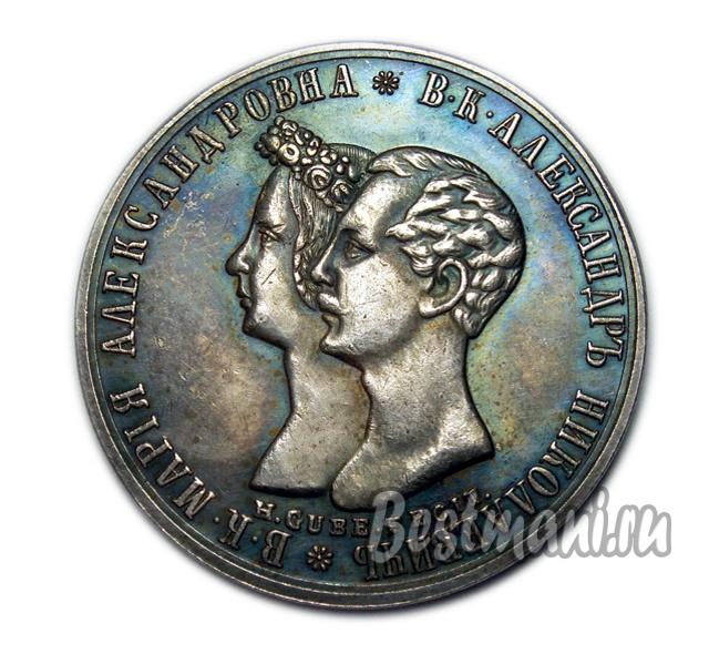 Свадебная монета купить монета финляндии 5 букв