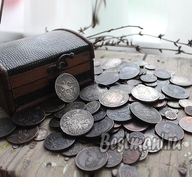 Монеты на мешке ру монеты в банках