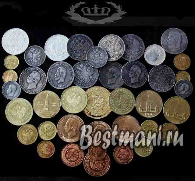 Коллекции царских монет конрос аукцион монеты