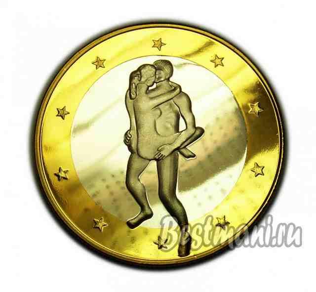 Сувенирные монеты евро секс