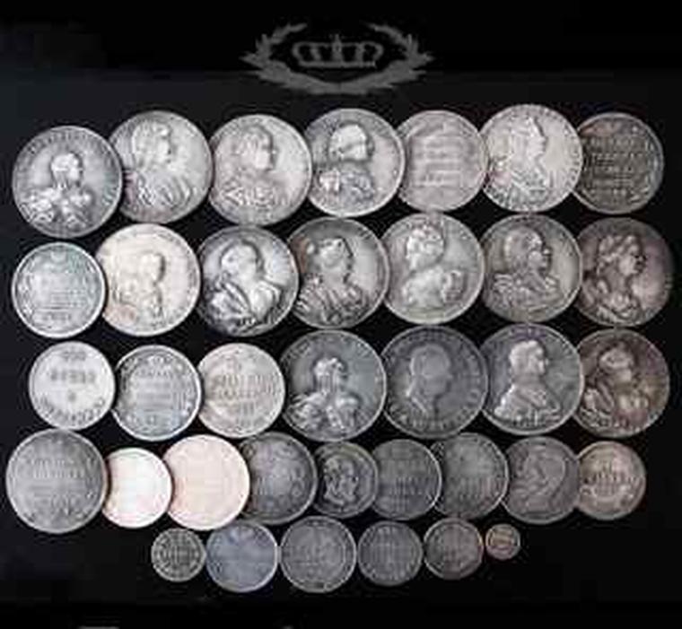 Монет россии 25 монет копии монет 2999